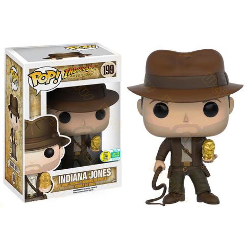 Raiders of the Lost Ark Indiana Jones Funko POP Action Figure Toy Gift In Box