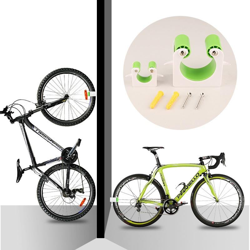 החדש כביש אופני קיר הר וו אופניים חניה אבזם נייד קיר מתלה מקורה אנכי סוגר עבור מרוצי אופניים