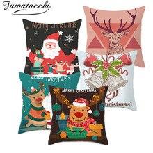 Fuwatacchi Cartoon Christmas Pillow…