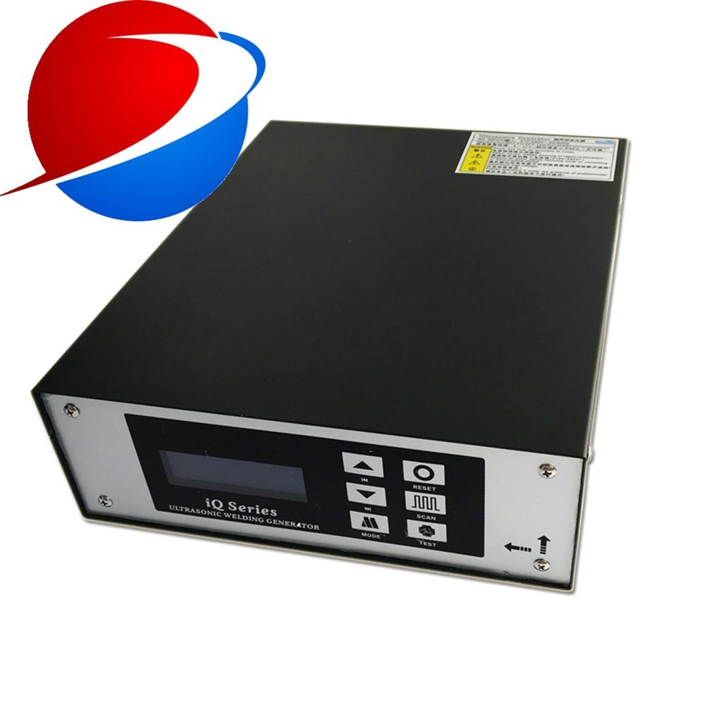 800W 35khz Manually Ultrasonic Welding Machine With Standard Tool Head