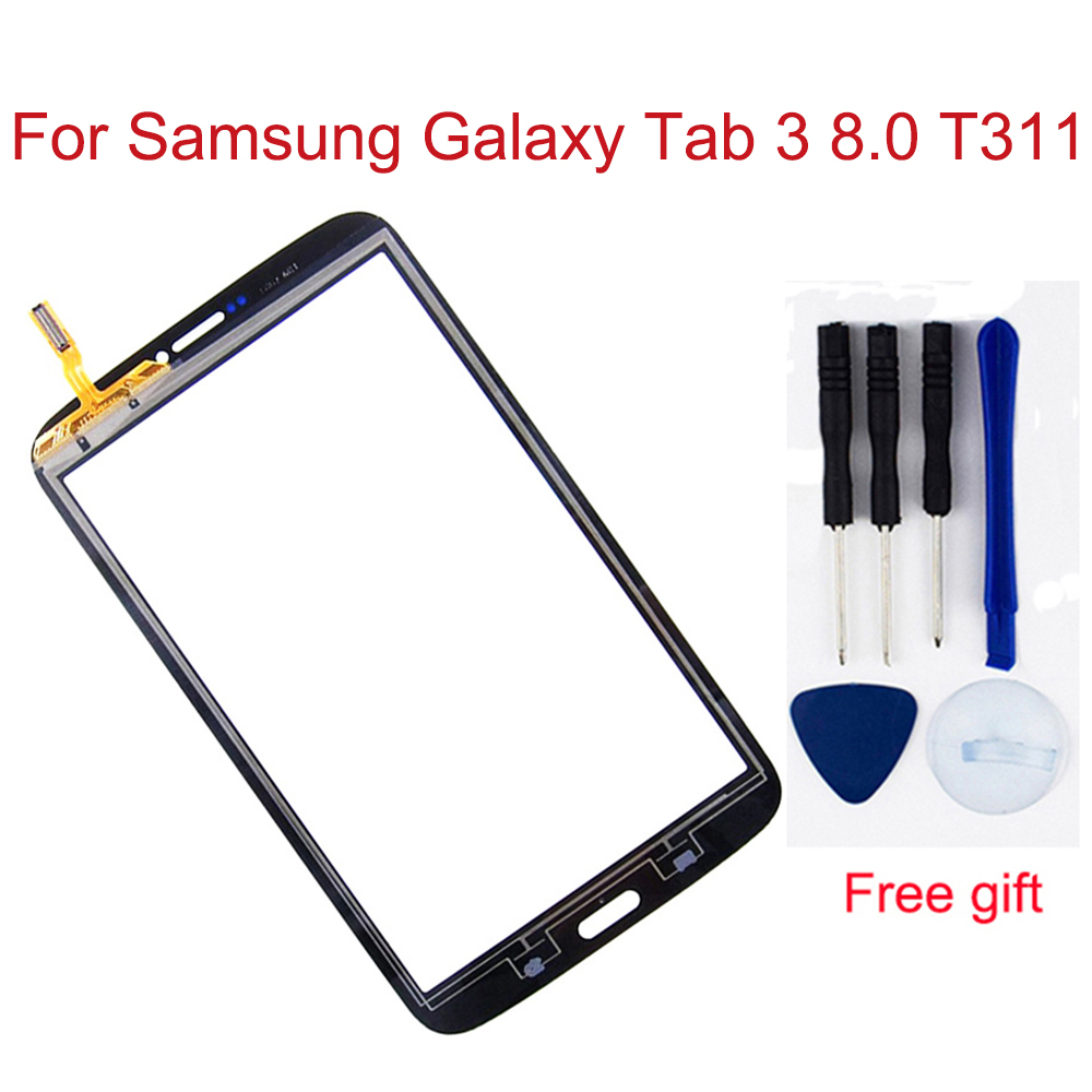 Für Samsung Galaxy Tab 3 8,0 <font><b>T311</b></font> <font><b>LCD</b></font> T315 SM-<font><b>T311</b></font> SM-T315 Digitizer Touch Screen Panel Sensor Glas <font><b>LCD</b></font> Display Bildschirm monitor image