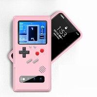 Gameboy retro caso 3d com 36 jogo para samsung galaxy s20 ultra s10 plus display a cores completa capa do telefone para samsung note 10 pro|Estojos encaixados| |  -