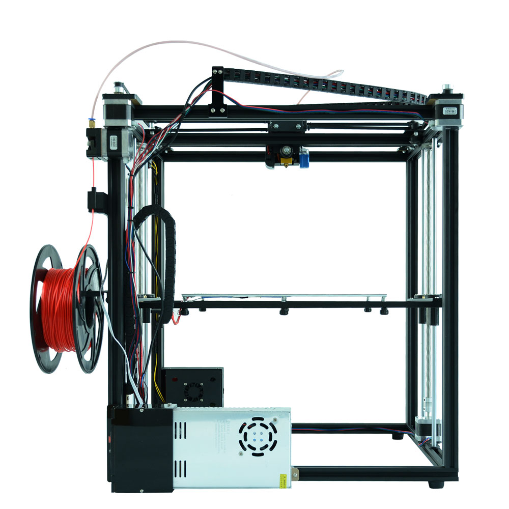 Image 5 - Auto leveling Tronxy X5SA DIY 3d Printer Full metal 3d machine 3.5 inches Touch screen Filament Sensor High Precision Machine-in 3D Printing Materials from Computer & Office