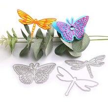 Butterfly dies Mermaid Metal Cutting Leaves Dies 2019 Craft Die Cut for Scrapbooking Paper Card Decoration