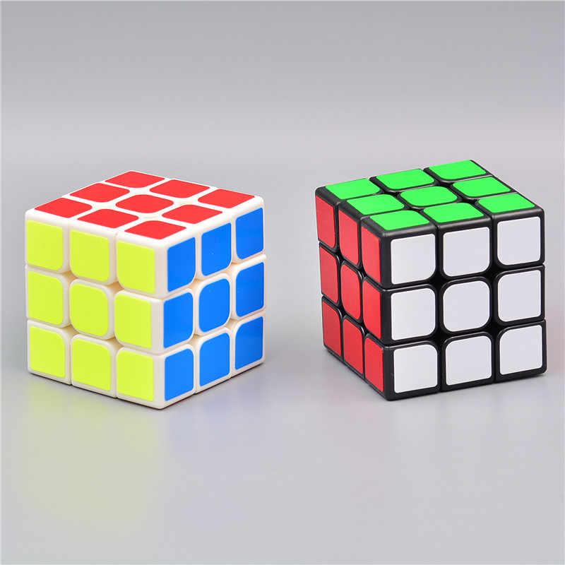 マジックキューブ 3 × 3 × 3 超スムーズなキューブ立方平方パズルパズル立方おもちゃキューブおもちゃ-m2
