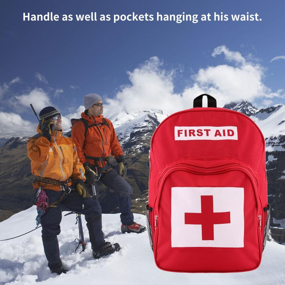 Newest Outdoor Camping Sports Home Medical Emergency Survival First Aid Kit BagBest First Aid Bag Medine Travel Rescue Bag