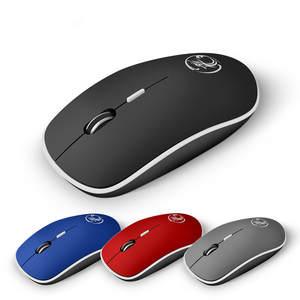 PC Mice Noiseless Mause Silent Ergonomic Laptop Computer-Mouse-1600 Sound USB Mute DPI