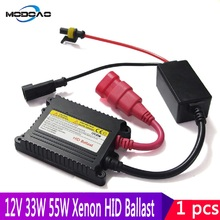 1pcs 35W 55W HID Xenon Ballast Ignition Unit Block H1 H3 H7 H8 H9 H11 9005 9006 H4 Xenon Ballast 35w 55w 12V Ballast Kit hid xenon kit h4 conversion kit h1 h3 h4 1 h7 h8 h9 h10 h11 single beam 35w 1set 12v xenon hid kit