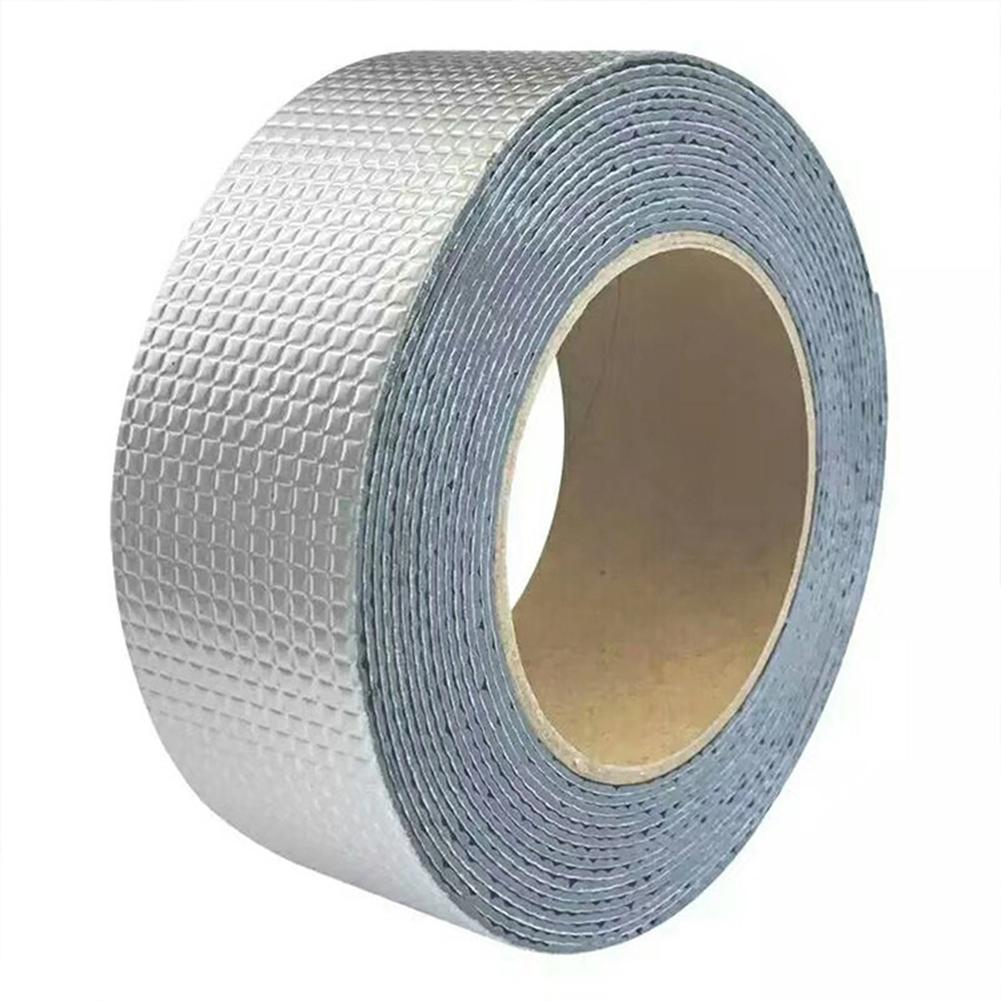 5*50CM/10*50CM Butyl Tape Shimming Stickers Outdoor Waterproof Plugging Repair Tape Roof Sealant Tape Adhesive Tape