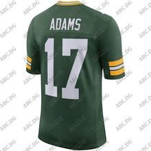 Football-Jersey Green Bay American Customized-Stitch Youth Kid Vapor-Limited Adams Davante