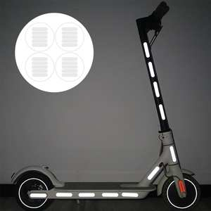 Stickers Bicycle-Accessories Xiaomi Scooter Reflective-Light-Sticker for Body Strip Night-Safety