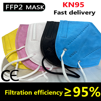 Mask Ffp2 Mask KN95 Face N95 Mask filter Dustproof Anti-fog And Breathable Face Masks 5-Layer Protection Mascarillas Reusable