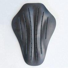 Motocicleta armadura ce certificada jaqueta inserir protetor de volta engrossar alta elasticidade rider armadura volta espinha almofada protetora CR-02