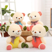 цена на Kawaii Teddy Bear Plush Toy Filled Soft Bear Bear Child Baby Child Birthday Gift Valentine's Day Gift 25CM