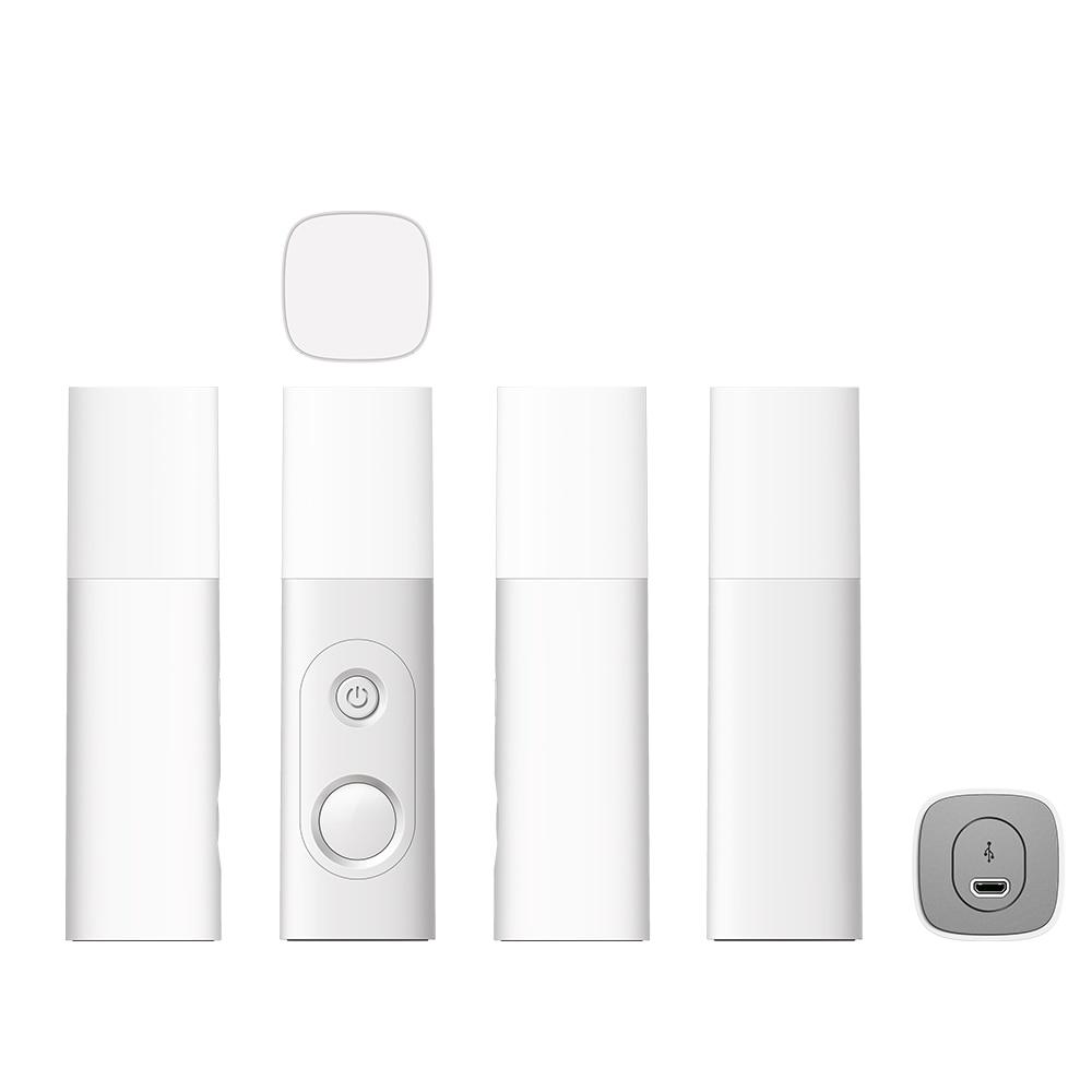 LED Novelty Lamp PIR Body Motion Sensor 18650 Battery Rechargeable Human Body Induction Night Light Portable Sensor Lighting