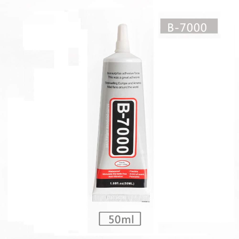 50ml B7000 Glue Super Glue Nail Gel Best B-7000 Multi Purpose Glue Adhesive Epoxy Resin Diy Crafts Cell Phone LCD Touch Screen image