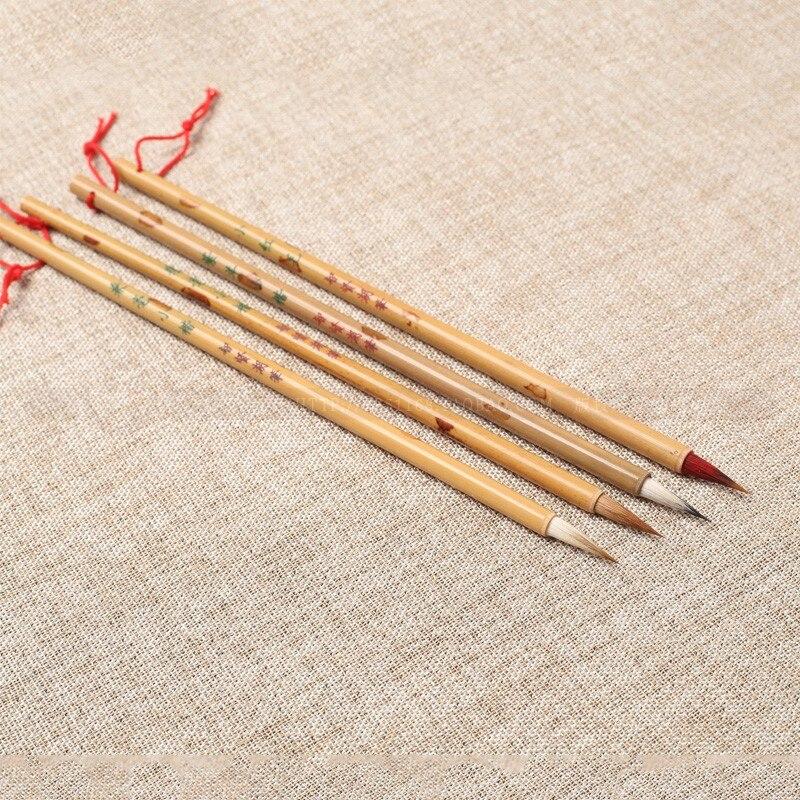 chines tradicional caligrafia escova caneta conjunto doninha 04