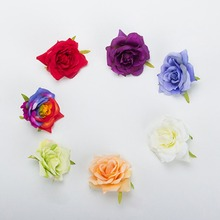 Mini PE Foam Roses Multi-use Artificial Flower Heads Handmade DIY Wreath Wedding Decoration Home Garden Supplies