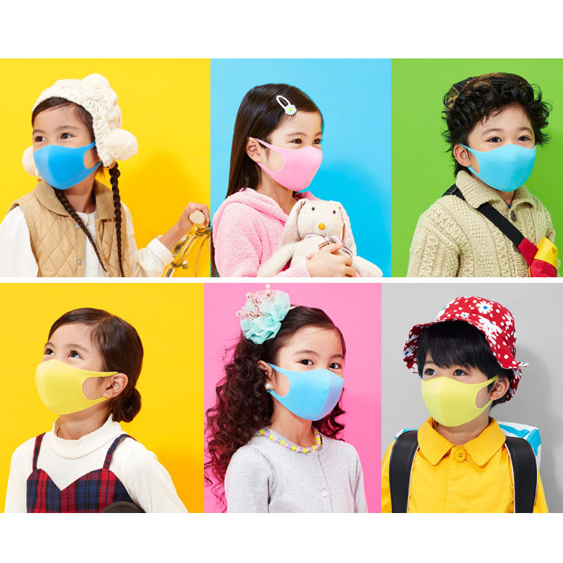 Face Masks For Kids Anti PM2.5 Dustproof Smoke Pollution Mouse Mask with Earloop Washable Respirator Children Face Masks 5