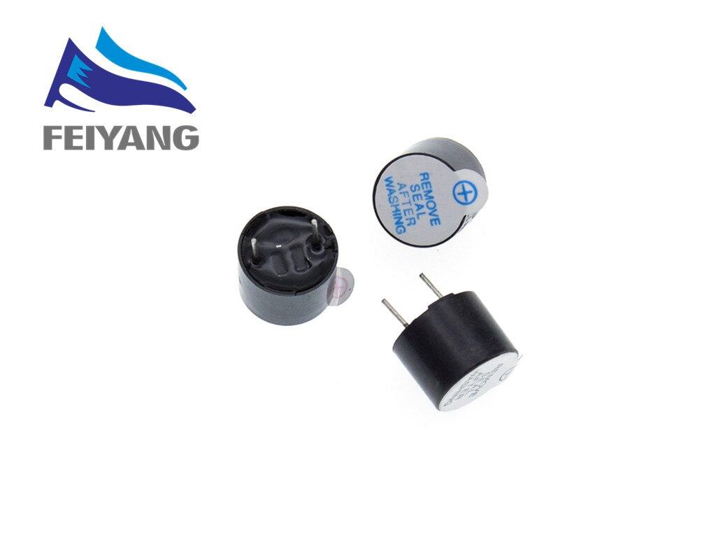 10pcs 5v Ativo Buzzer Magnético Longo Continous Beep Alarm Tone Ringer 12mm MINI Campainhas Piezo Ativa Fit para Computadores e Impressoras