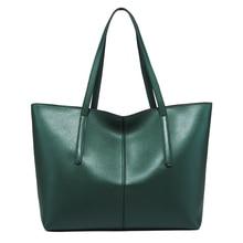 цена на New Style Luxury Handbags Women Bag Geniune Leather Large Capacity Handbag Female Fashion Single Shoulder Tote Bag Messenger