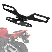 LEEPEE задний кронштейн Поддержка хвост светильник держатель Регулируемый складной держатель для мотоцикла держатель номерного знака