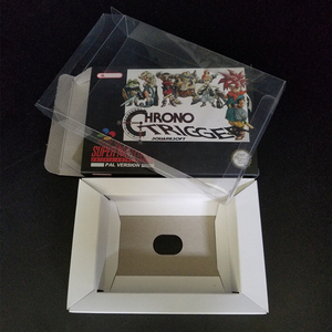 Image 5 - Reproduction Game Retail Box + White Inner lining + Plastic Protective Box For 16 Bit Game Cartridge Card (No Game)