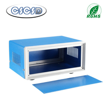 Metal Electrical Enclosure Project Case DIY Junction Box Blue Project Box Enclosure Electronic Iron DIY Junction Box all size