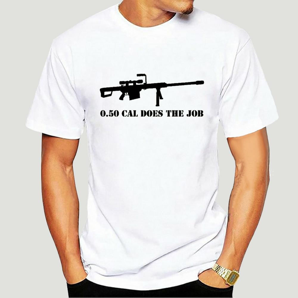 Barrett M82 50 Cal Sniper Riffle Warzone t-shirt Airsoft Gun Bf3 Cod Battlefield 2019 nouvelle marque tissu impression personnalisée t-shirt 5975A