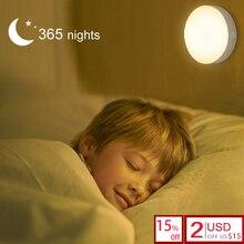 Magnet adsorption intelligent stepless dimming LED night light Kid Bedroom bedside nursing study corridor dormitory nightlight