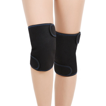 1PC Sports Kneepad Men Pressurized Elastic Knee Pads Support Fitness Gear Basketball Brace Knee Protector Compression Sleeve Hot