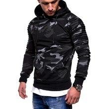 WENYUJH Fashion Camouflage Hoodie Men Autumn Winter Sweatshirt Long Sleeve Casual Hip Hop Hoody Men Camo Pullovers Plus Size 3XL цена в Москве и Питере