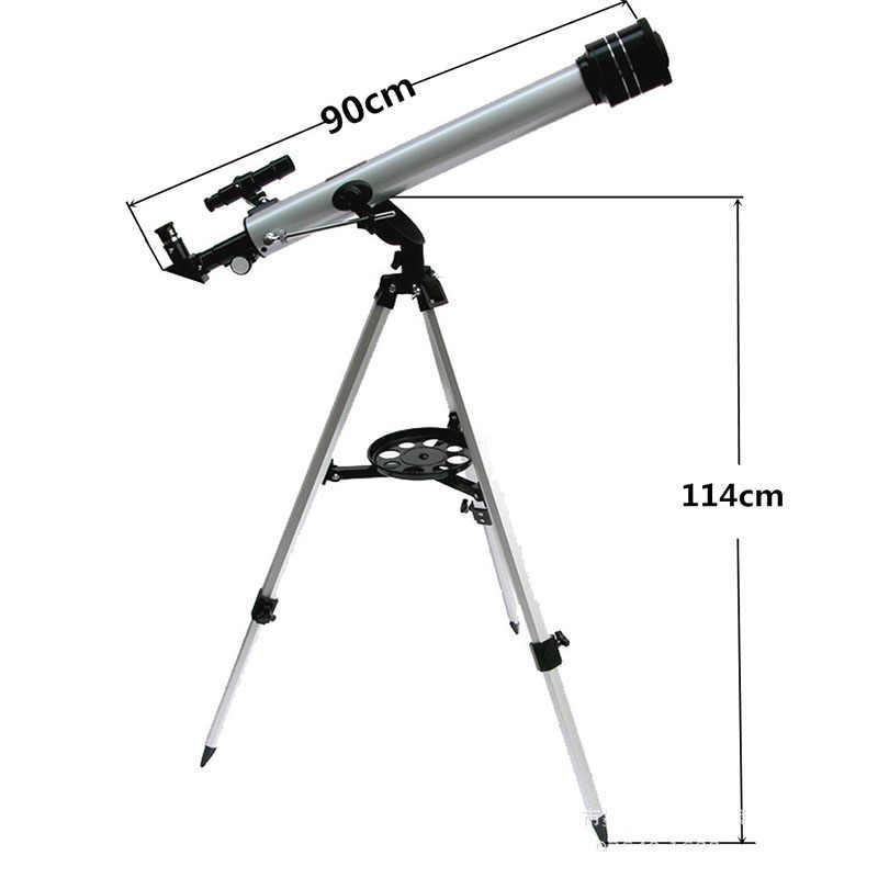 Télescope astronomique extérieur de l'espace monoculaire de zoom professionnel 525X avec le trépied 70mm réfracteur étoile de lune regardant pour des enfants