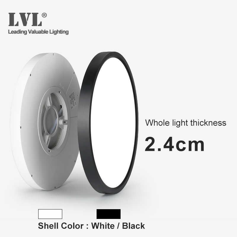 Panel de luz Led ultrafino de 12W, 18W, 24W, 32W, 230V, accesorio de iluminación para interiores, cocina, dormitorio, Panel de montaje en superficie