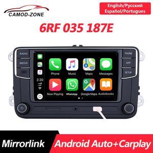 Android Auto NONAME RCD330 PLUS RCD330G Carplay R340G автомобиль MIB радио 6RF 035 187E для VW Golf 5 6 Jetta MK6 CC Tiguan Passat Polo