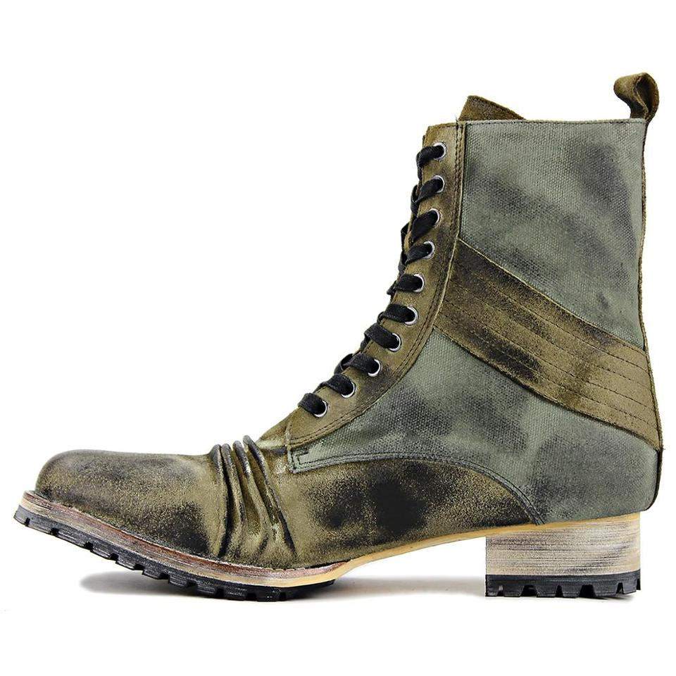 Handmade Mens Boots Motorcycle Ankle