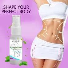 30ml eficaz emagrecimento spray cintura corpo perna queimador de gordura perda de peso massagem spray casa anti gordura queima verão tslm1