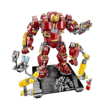 10833 Hulkbuster Compatible With Lepining 76105 Model Building Blocks Boys Gifts Children Toys For