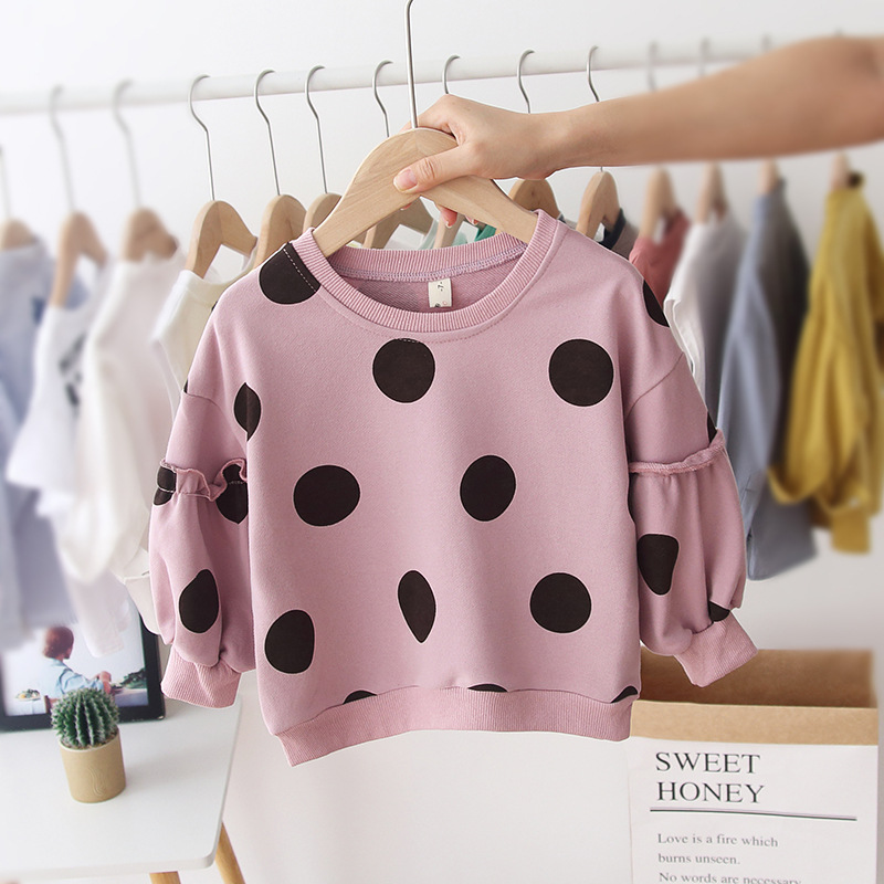 Dotted Sweater Pink