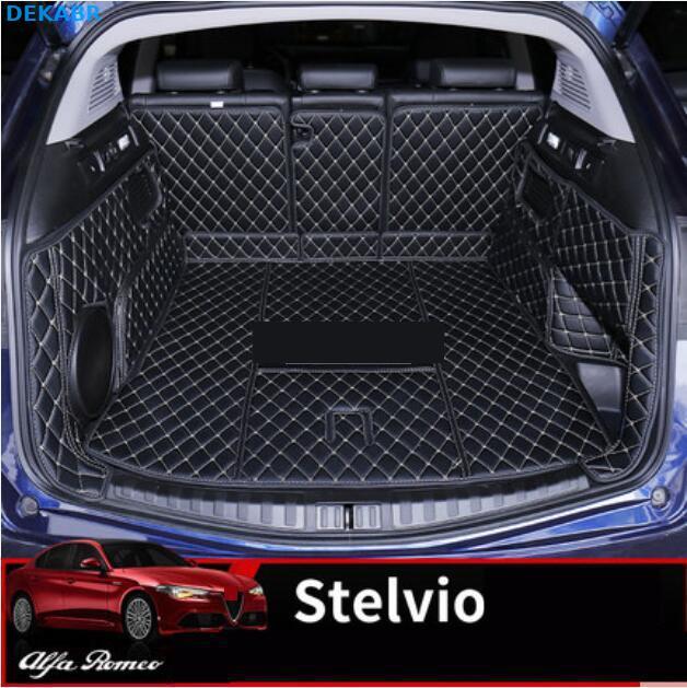 Alfa Romeo Stelvio Boot Liner PVC Tailored 2016+