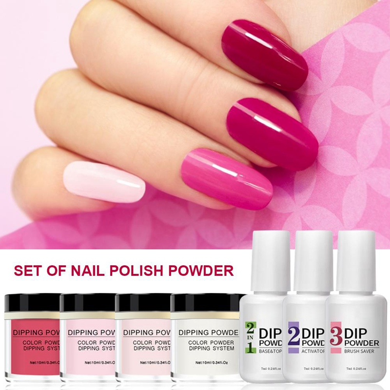 dip pó unhas manicure gel unha polonês