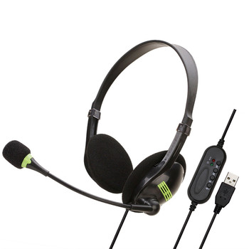 цена на USB Wired Headset Stereo Gaming Headset Virtual Surround Bass Gaming Earphone Headphone with Mic for Computer PC Gamer 3.5mm