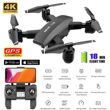 Fpv Drone 4k profesional GPS Rc Quadcopter droni 5G Follow Me Selfie Dron Dual camera Adjustable Gps Drone Quadrocopter