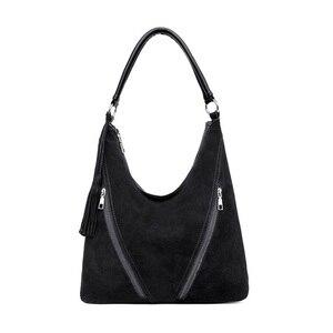 Image 4 - Vfemageกระเป๋าถือหนังผู้หญิงกระเป๋าผู้หญิงCrossbodyกระเป๋าสุภาพสตรีกระเป๋าถือHobosผู้หญิงTop Handleกระเป๋าSac