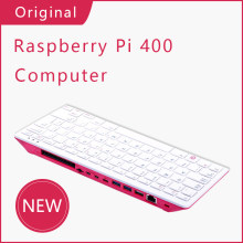 Raspberry Pi 400 Personal Computer Kit Include Power Supply,Keyboard,SD Card,Mouse Support Dual HDMI 4K WiFi Bluetooth