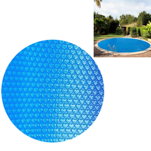 Protector Pool-Cover Swimming-Pool Round Waterproof Pe with Rope Insulation-Film Accessor