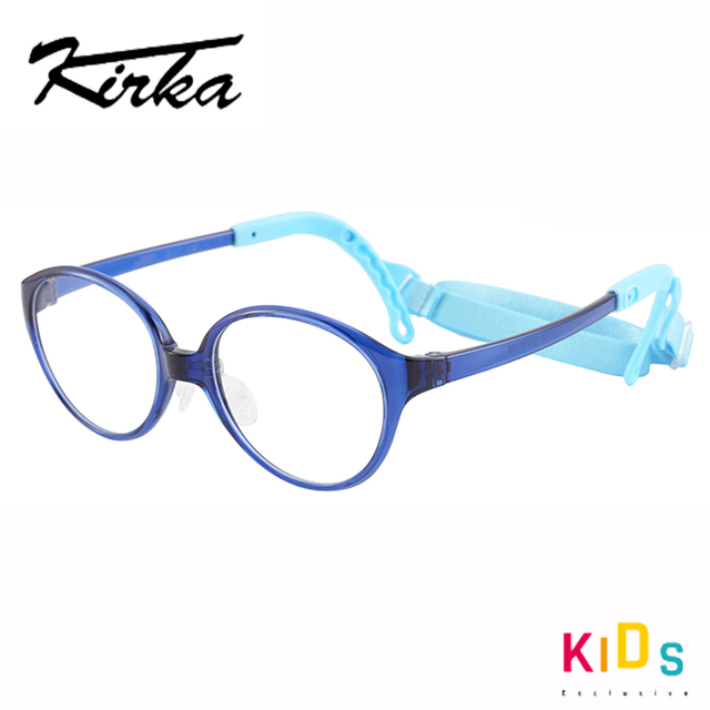 Kirka crianças óculos quadro flexível roxo cor óculos de olho moda crianças quadros para meninas óculos ópticos