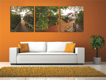 Wall Art Canvas Paintings Manor Scenery Photography HD Printed High-end Quantity Waterproof Photo Decoration