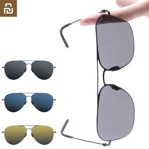 Image 1 - Youpin Ts Merk Sunglass Nylon Gepolariseerde Roestvrij Zon Lenzen Glasse Smart Retro Uv Proof Outdoor Reizen Voor Man Vrouwen h20