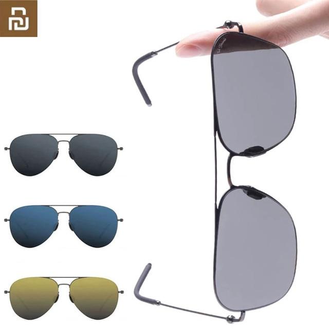 Youpin Ts Merk Sunglass Nylon Gepolariseerde Roestvrij Zon Lenzen Glasse Smart Retro Uv Proof Outdoor Reizen Voor Man Vrouwen h20